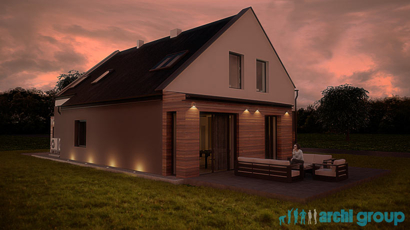 Projekt Elewacji Domu Jednorodzinnego Edo230 Orzesze